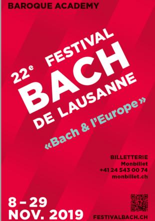 Festival Bach affiche