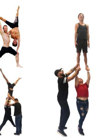 Standing acro Acrokong