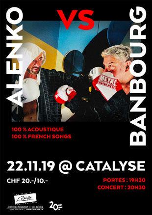 Alenko et Banbourg en concert à Catalyse