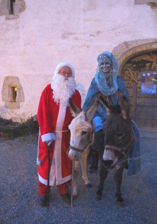 La Dame de Noël et Saint-Nicolas Musée paysan et artisanal