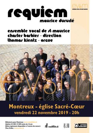 Concert Duruflé Montreux