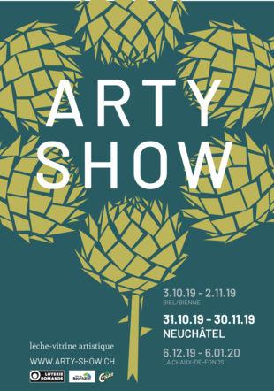 affiche Arty show Neuchâtel