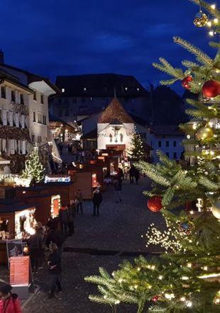Marché de Noël - Gruyères La Gruyère Tourisme