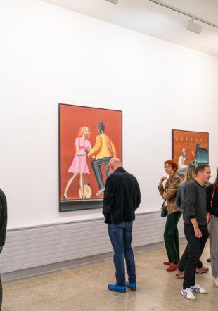 Exposition Klapheck Musée des beaux-arts de La Chaux-de-Fonds