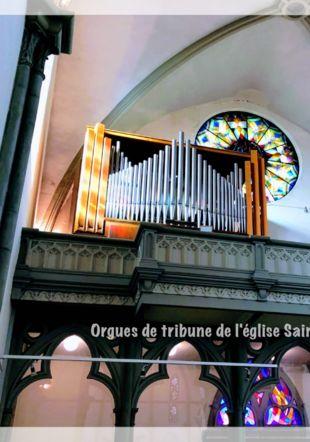 Orgues de tribune de l'église St-Etienne de Bottens