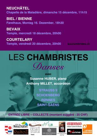 Les Chambristes - décembre 2019