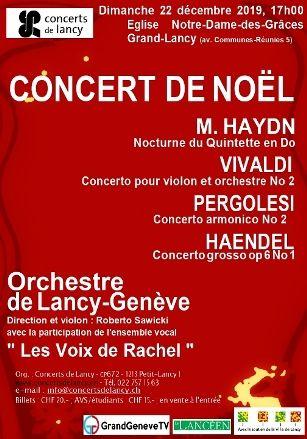 Orchestre de Lancy-Genève-22.12.2019 Orchestre de Lancy-Genève