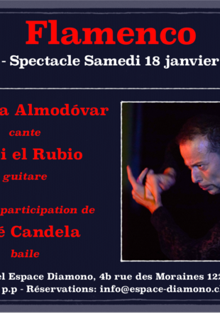 Concert spectacle de Flamenco Franco Schmid