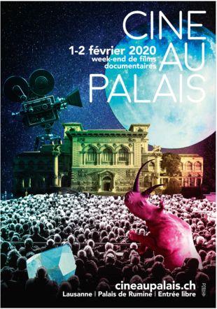 Affiche de Ciné au Palais BCUL, JS Fauquex