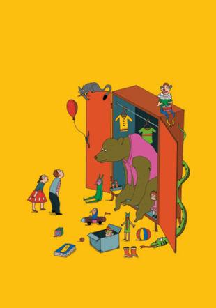 Anna, Léo et le gros ours de l'armoire Albertine