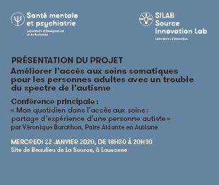 Flyer projet autisme-Next La Source Archives Fondation La Source