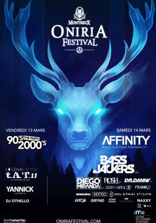 L'affiche du Montreux Oniria Festival 2020