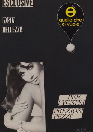 Ketty la Rocca, E' quello che ci vuole, 1964-1965 The Estate of Ketty La Rocca