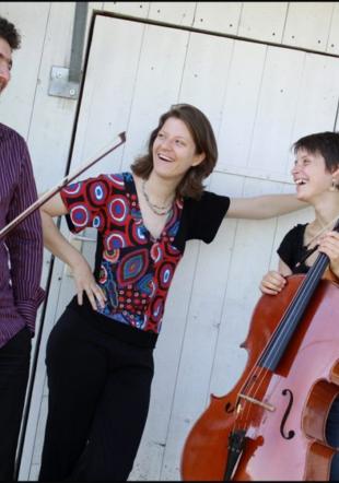 Trio Nuori: Vincent Brunel, Flore Merlin et Aude Pivôt