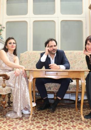 Layla Ramezan, Blaise Ubaldini et Valérie Bernard