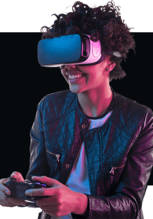Joueur de VR secondworld