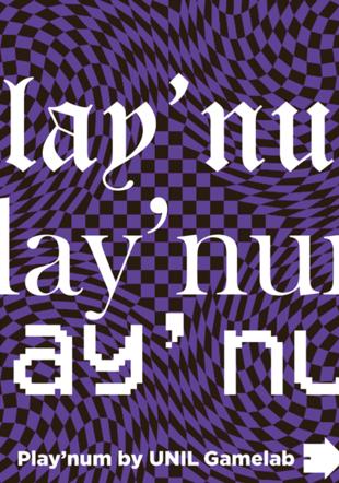 image avec trois typos différentes Play'num maisondailleurs