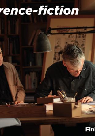 Conférences fiction avec François Schuiten et Benoît Peeters maisondailleurs