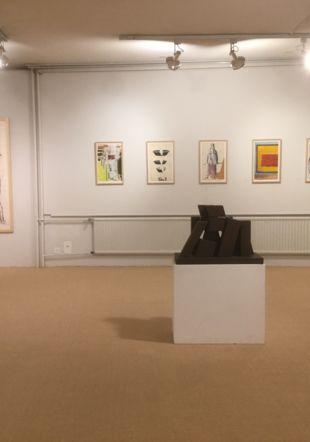 sculpture de Presset, oeuvres d'Avramidis, Fehr. Ditesheim& Maffei Fine Art