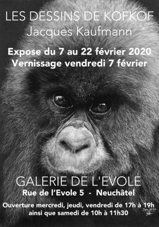 Affiche de l'expo kofkof 2020