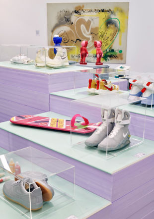 "Exposition ""Sneakers"", mudac"