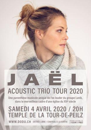 Jaël en concert pour ses 20 ans de carrière