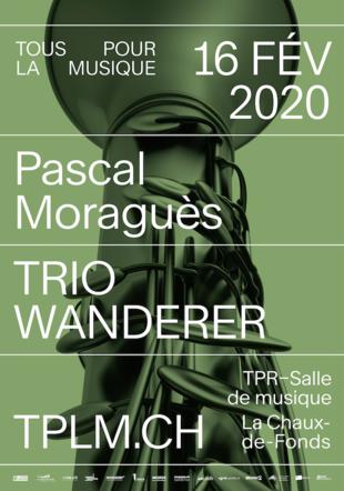 Tous pour la musique-TPLM Trio Wanderer et Pascal Moraguès, concert du 16.02.2020