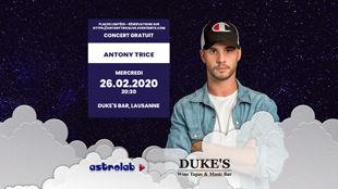 Showcase live Antony Trice @Duke's Bar Lausanne