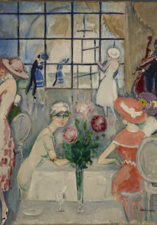 Kees van Dongen, « Thé au Casino » (Deauville), 1920
