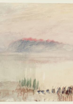 Joseph Mallord William Turner, from Lausanne Sketchbook © Tate, London 2014