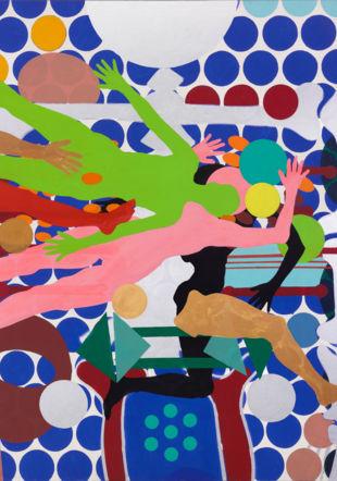 Oeuvre de Kiki Kogelnik Musée des beaux-arts
