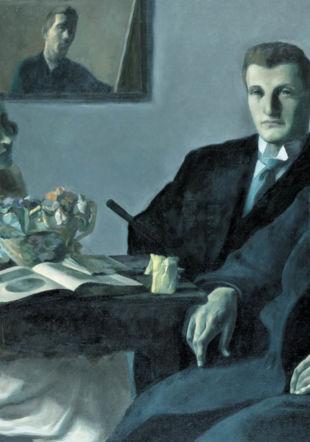 L'Atelier (les Amis), Charles Humbert Musée des beaux-arts