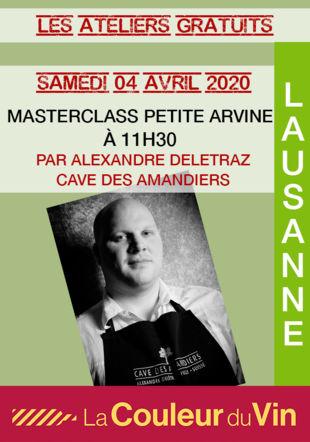 MASTERCLASS PETITE ARVINE lacouleurduvinmh