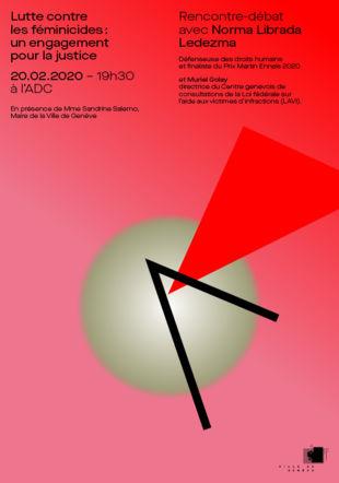 Flyer de la conférence Manon Mello / Ville de Genève
