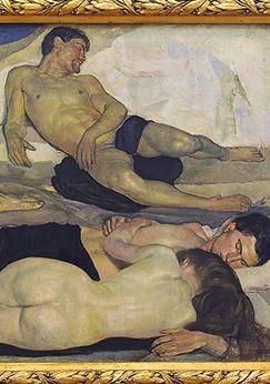 Hodler Ferdinand, Die Nacht, 1889 - 1890, Kunstmuseum Bern