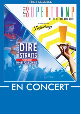 Gagnez vos billets pour le Supertramp et Dire Straits tribute