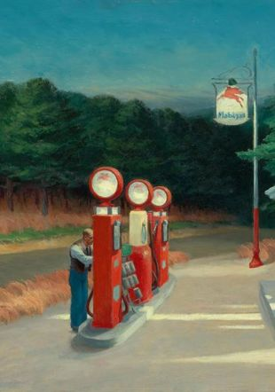 Edward Hopper, Gaz. 1940