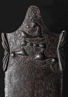 Détail d'un fourreau d'épée de La Tène Laténium, J. Roethlisberger.