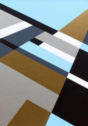 Rita Ernst, Neue Weite, 2017, 60 x 80 cm Galerie St-Hilaire, 2020