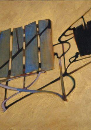 Chaise Bleue - 95 x 125cm