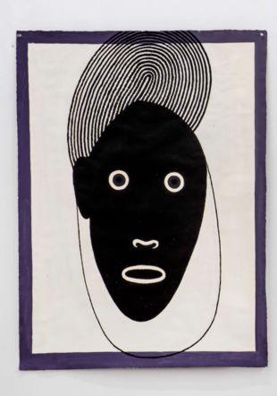 """ Portrait huppé "" Alain Germond"