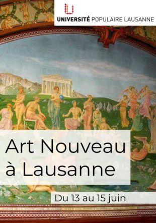 Art Nouveau Lausanne Creative Common