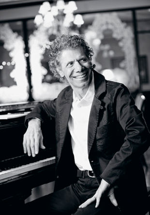 Chick Corea, piano Aaron Meekcoms