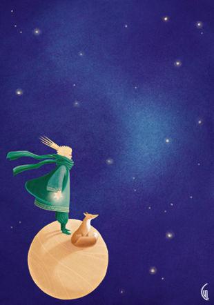 Le Petit Prince Illustration: Gaëlle Vejlupek