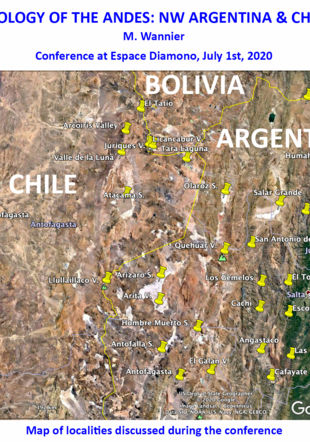 Geology of the Andes: NW Argentina & Chile