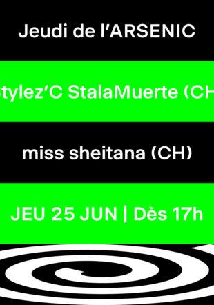 Jeudi de l'Arsenic - Stylez'C StalaMuerte, miss sheitana