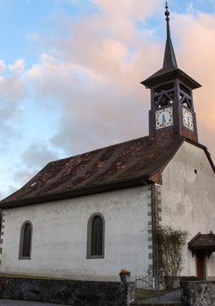 Eglise de Syens Moudon Région Tourisme