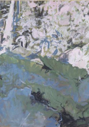 Huile sur toile, 100 x 120 cm 2019 © Pia Huber