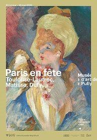 Paris en fête Musée d'art de Pully