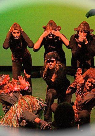 livre de la jungle stage de comédie musicale